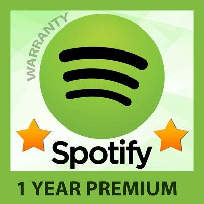Spotify premium 1 year account Dast delivery! Own email, Works worldwide