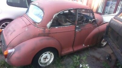 Morris Minor 1000 1961 2 door Extensively modified  to Owen Burton manual