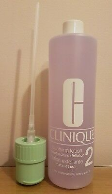 BRAND NEW 487ml CLINIQUE CLARIFYING LOTION 2 **DRY COMBINATION** **ONLY £22.99**