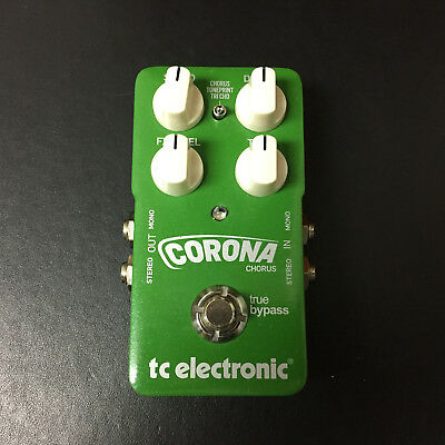 TC Electronic Corona Chorus Guitar Effects Pedal, Toneprint