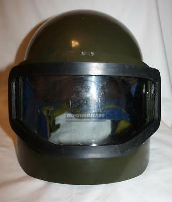 MASKA-1 GLASS VISOR Rare Russian Spetsnaz Helmet Early Type (1,2 Chechen  Wars)