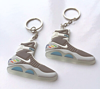 e3c4e0fe9e78 NIKE AIR MAG Back to the Future Glow In The Dark Keychain - £3.19 ...