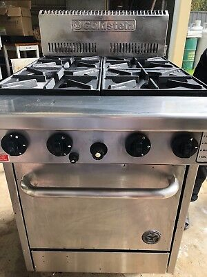 goldstein oven with 4 burner stove natural gas