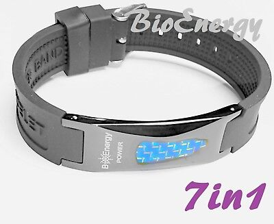 Anion Magnetic Energy  Power Bracelet Health 7in1 Bio GERMANIUM Armband BAND