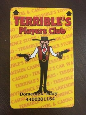 Terrible's Players Club Slot Card