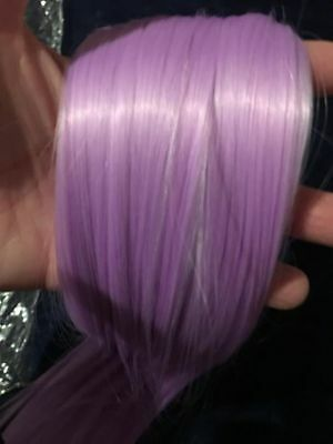 Stunning Lilac Clip In Hair Extension Approx 22 Cm Long   Bnwot  Free Post (F45)