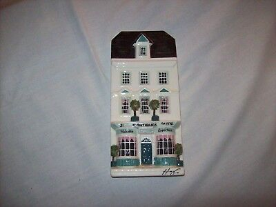 Hazle Ceramics A Nation of Shopkeepers Wall Plaque - Antiques