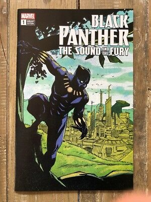 Black Panther The Sound And The Fury #1 eBay Variant
