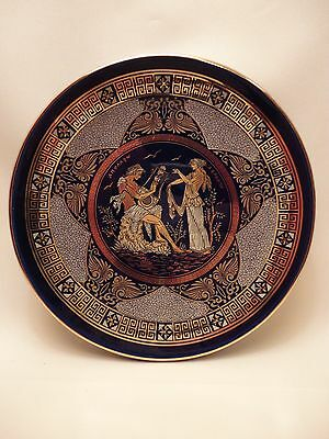 Greek Mythology Goddess Aphrodite Apollo  Rare Ancient Greek Art Pottery Plate