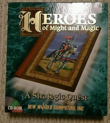 Heroes of Might and Magic - New World Computing - CDROM - Boxed Game D
