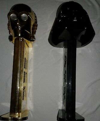 Giant Pez Darth Vader and 3-CPO