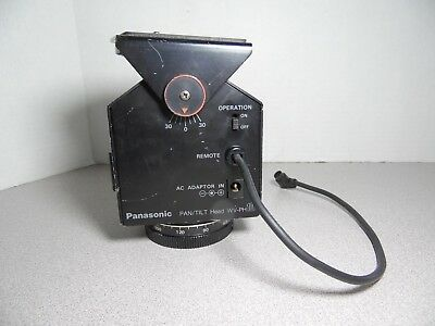 Panasonic Pan/Tilt Head Model No. WV-PH10