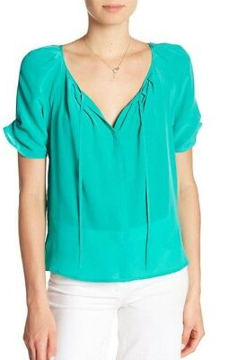 841252bf9fe6e JOIE BERKELEY SILK Top Size XS freesia color   198 -  99.00