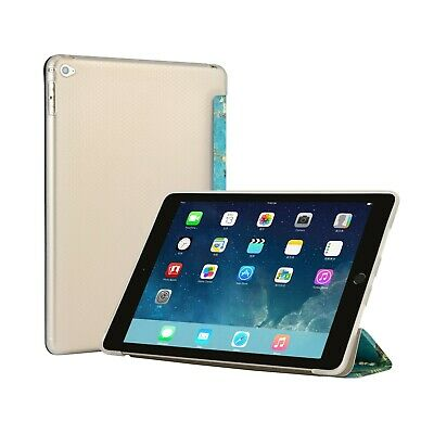 Magnetic Soft Leather Smart Case Cover With Stylus For iPad Air 2 A1566 / A1567