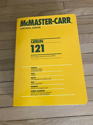 McMaster Carr Catalog 121 2015 Chicago, IL- New out of box