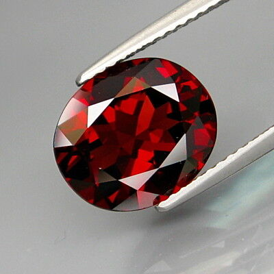 4.25Ct.Attractive Color! Natural Red Mozambique Garnet Africa Eye Clean!