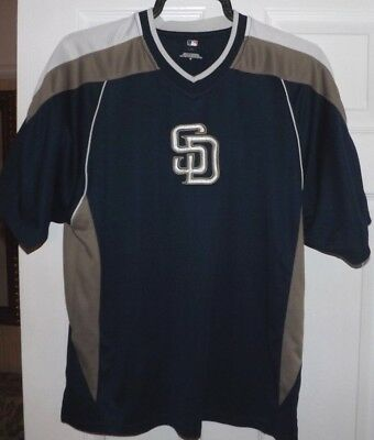 San Diego Padres baseball top by Majestic size Medium