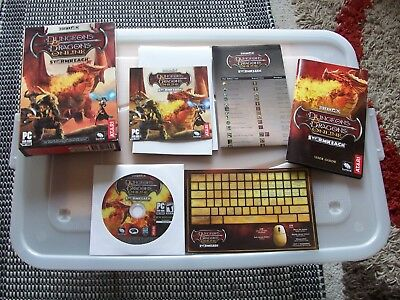 DUNGEONS AND DRAGONS ONLINE PC GAMES. STORMREACH. Inc CD, BOOKLET, POSTERS etc