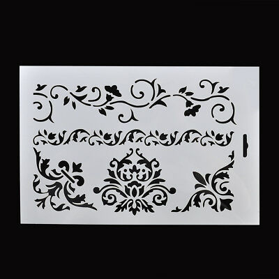 Charm Flower Layering Stencils Scrapbooking Embossing Paper Cards Craft Decora