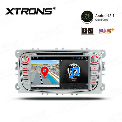 XTRONS Ford Mondeo Focus S-Max Android 7.1 Car DVD Player Stereo GPS Sat Nav OBD