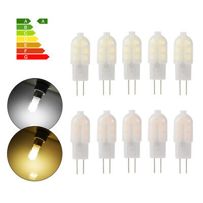 10x  G4 3W LED Bi-pin Capsule Light Bulb Lamp DC 12V Warm/Cool White
