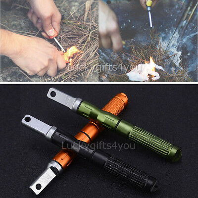 Fire Starter Outdoor Survival Magnesium Flint And Steel Striker Lighter Stick
