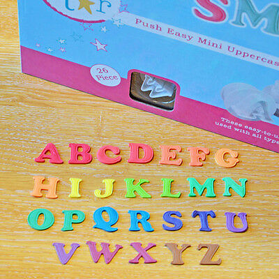 Cake Star MINI Push Easy Upper Case Alphabet Plunger Cutters for Sugarcraft