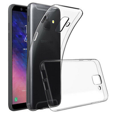 Coque Silicone UltraSlim TPU Clear gel Ultra Fine Samsung Galaxy A6 (2018) 5.6""