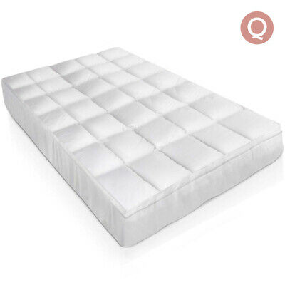 Giselle Bedding Queen Size Duck Feather & Down Mattress Topper