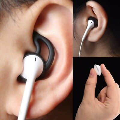 Silicone in-ear Headset Cover Earbuds with Ear Hook 2/4Pairs for Apple Airpods