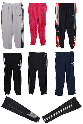 Job Lot Vintage Branded Tracksuit Bottoms Adidas Nike Puma Wholesale X10 Grade A