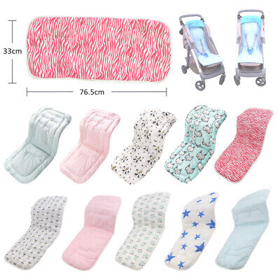 Universal Baby Stroller Seat Liner Infant Car Seat Cushion Cotton Padded Cushion