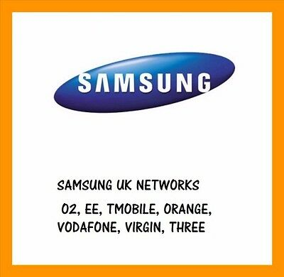 Unlock Code Samsung Galaxy S9 S9+ S8 S8+ S6 S5 J5 J3 A5 Vodafone O2 Ee T Mobile