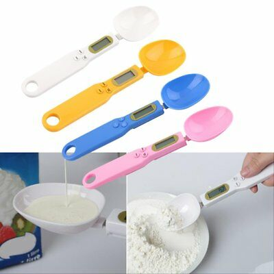 500/0.1g Digital LCD Measuring Food Kitchen Lab Electronic Spoon Weight Scale MG