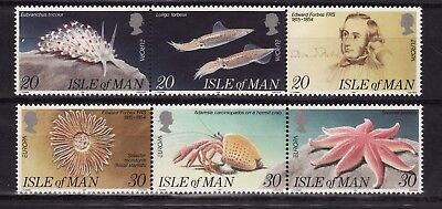 1994 Isle of Man, Europa, Marine Discoveries, NH Mint Set of Stamps, SG 600-5