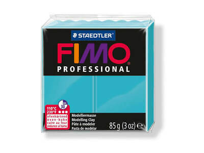 Turquoise Fimo Professional Polymer Modelling Oven Bake Clay 85g - Turquoise