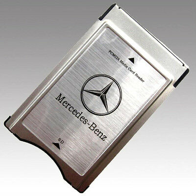 Pcmcia To Sd Media Card Reader Adapter Audio Slk C E S Class Mercedes Benz New