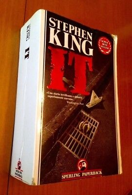 Stephen King - It - 1° Ed. 1990 -  Sperling Paperback