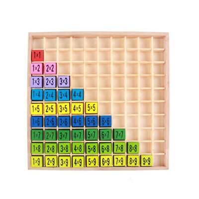 Educational Toy For Kids 99 Multiplication Table Math Teaching Aids T