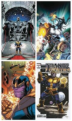 Thanos Legacy #1 Cover A, Lim, Perez, Cosmic Ghost Rider Variant Set 2018
