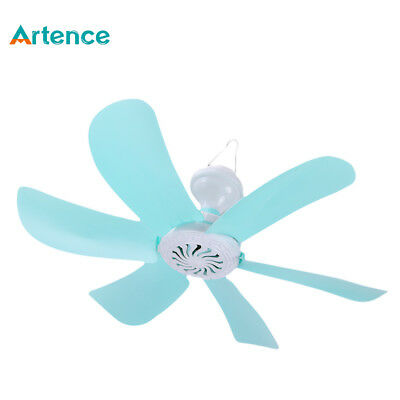 Artence® Hanging Fan 6 Leaf Super Quiet Wind Mini Household Mute Ceiling Fan