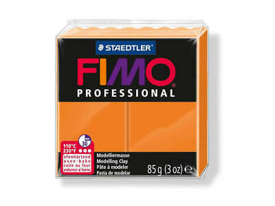 Orange Fimo Professional Polymer Modelling Oven Bake Clay 85g - Orange