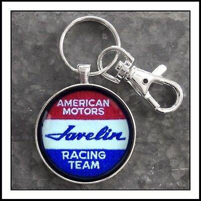 AMC Javelin American Motors shoulder patch photo keychain Gift