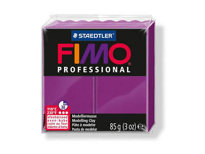 Purple Fimo Professional Polymer Modelling Oven Bake Clay 85g - Purple