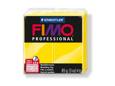 Yellow Fimo Professional Polymer Modelling Oven Bake Clay 85g - Yellow