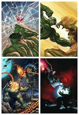 Immortal Hulk #5, #6 Cover A & Cosmic Ghost Rider Variant Set 2018 Pre-Sale