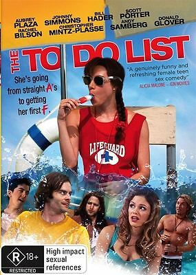 The To Do List : NEW DVD