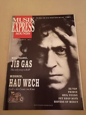 Musik Express Sounds Zeitschrift 1990 Nr. 11 (ZZ Top, Prince, Neil Young)