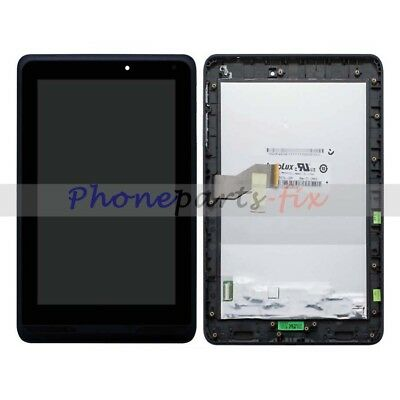 """LCD Display Touch Screen Digitizer + Frame For 7"""" Tablet Verizon Ellipsis 7 QMV7"""