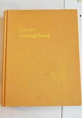 Vintage 1969 Singer Sewing Machine Hardcover Book Photos Illustrations